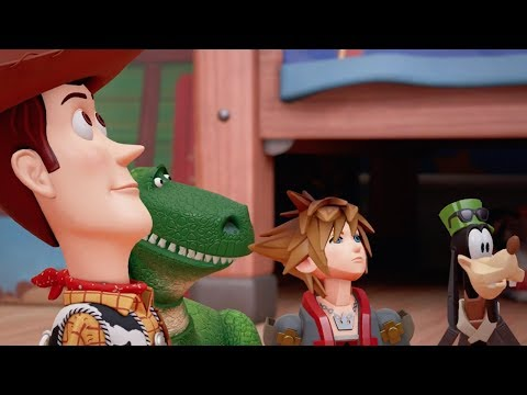 Thumbnail: Kingdom Hearts 3 Official Toy Story World Trailer