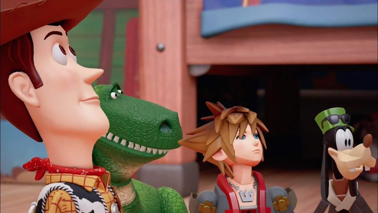 Kingdom Hearts 3 Official Toy Story World Trailer Youtube