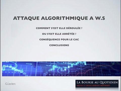 Gilles Leclerc - Les algos dégomment le marché - Bourse au Quotidien
