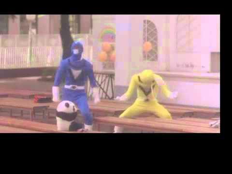 DMC Live Action Power Ranger Headbutt