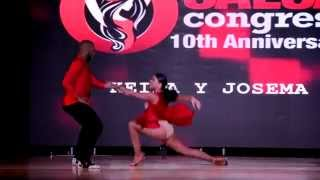 Josema & Keila at Orlando Salsa Congress 2015, Sunday