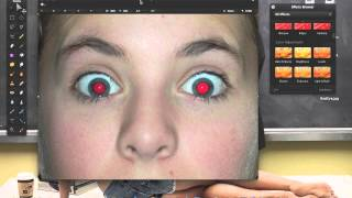 Pixelmator | Red eye effect