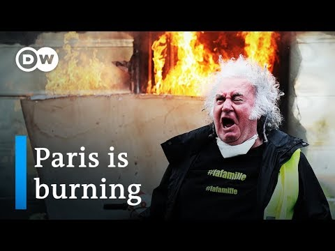 Yellow vest protesters in Paris ransack shops on Champs-Elysees | DW News