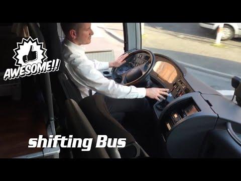 Bus driving shifting Setra 415 HD OM501,OM457/Schalten Bus fahren/relaxed driving/relaxed shifting
