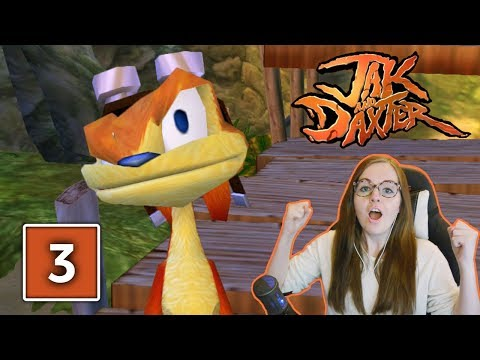 I CAUGHT A FISH | Jak and Daxter PS4 The Precursor Legacy Gameplay Walkthrough Part 3