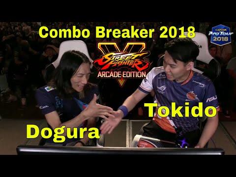 SFV AE - Tokido VS Dogura   Combo Breaker 2018 - Day 2   CPT 2018
