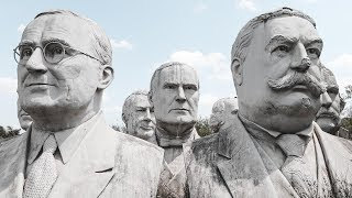 Exploring a Field Full of 43 Decaying President Heads