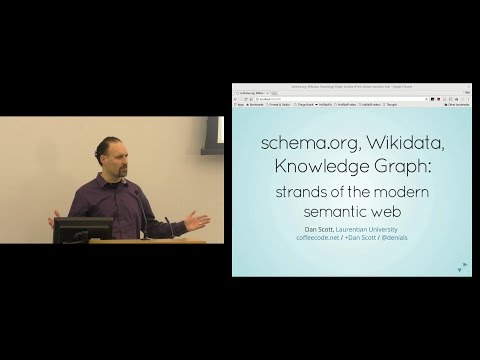 Strands of the modern semantic web: schema.org, Wikidata, and the Knowledge Graph