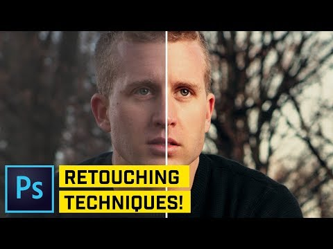 How to Retouch Dramatic Portraits in Photoshop CC