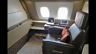 Singapore Airlines NEW A380 Suites (First) Class Review SQ232 Sydney - Singapore