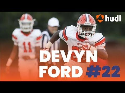 Devyn Ford | North Stafford High School Football | Ultimate Highlights