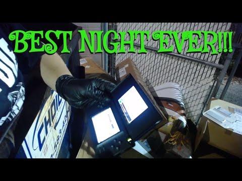 BEST FINDS EVER! DUMPSTER DIVING NIGHT #5