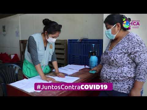 Entrega de Canasta Juntos Podemos