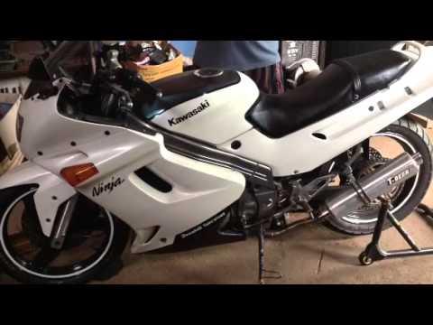 Kawasaki ZZR 250 Mods Dual Exhaust Sound