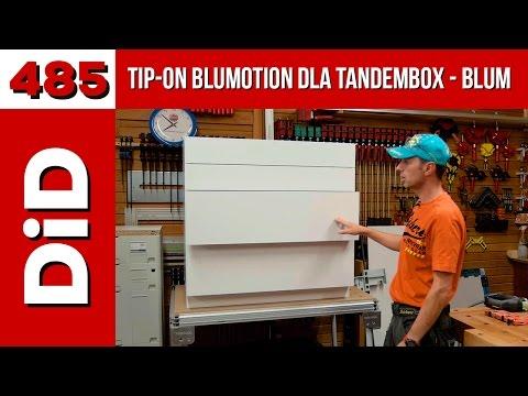 485. TIP-ON BLUMOTION dla Tandembox firmy Blum