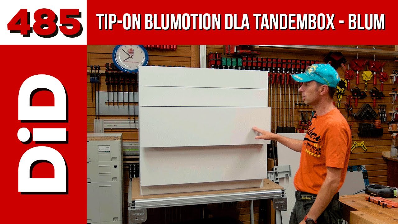485  TIP-ON BLUMOTION for Tandembox from Blum