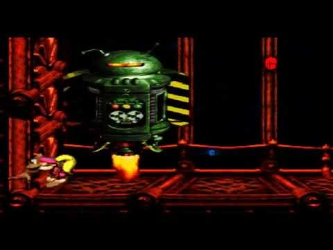 Donkey Kong Country 3 Emulated (SNES) Part 4 - Mekanos