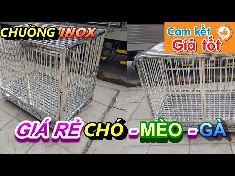 Bán chuồng nuôi chó, mèo, gà tại Bắc Ninh,Báo Giá Chuồng Chó Inox ,chuồng chó gấp gọn Bắc Ninh,