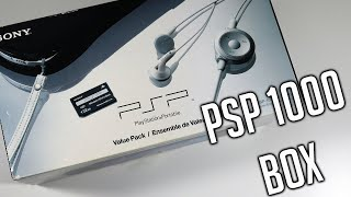 PSP 1000 Original Box Review - Sony Playstation Portable Value Pack Piano Black