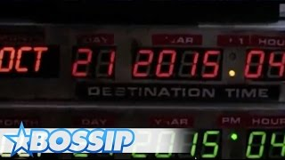 Back To The Future Day Predictions | BOSSIP REPORT