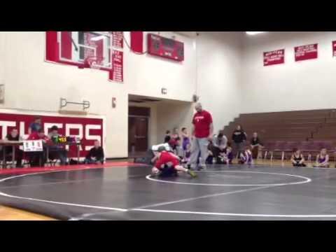 Jayden's Wrestling Match 1/13/13