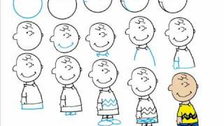 How To Draw Charlie Brown Step By Step Drawing Tutorial