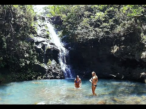 Waimano Falls Hike, Pearl City, Oahu, Hawaii (GoPro 4 Silver)