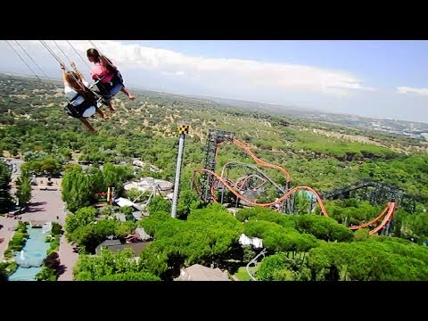 Star Flyer on-ride HD POV Parque de Atracciones de Madrid