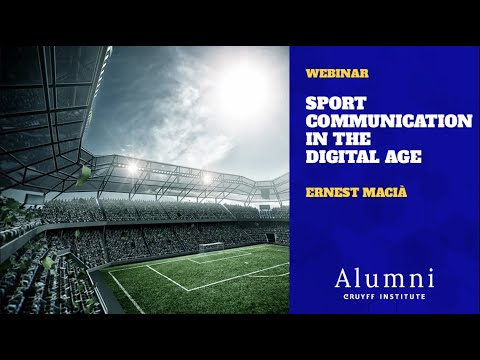 Webinar Recording: Sport Communication in the Digital Age