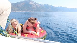 Bootje varen over Lake Tahoe | Vloggloss 1394