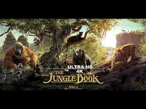 The Jungle Book Hindi Trailer  Ultra HD 4K  Poster