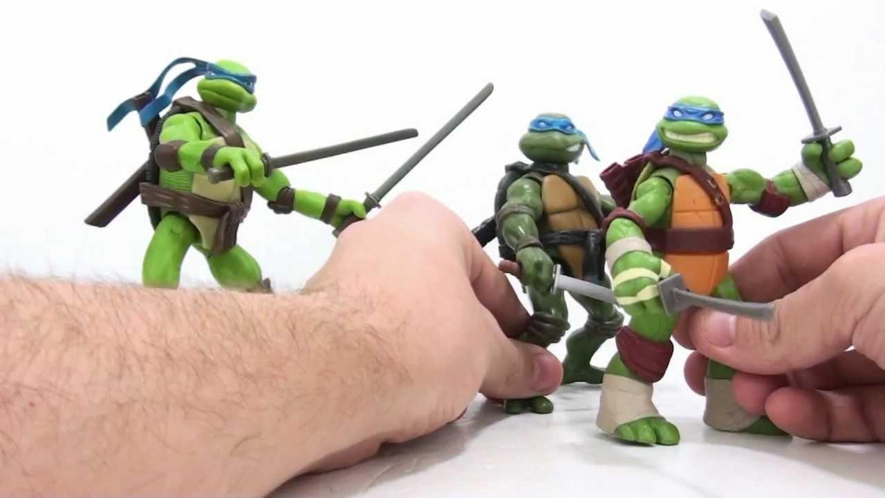 Video Review Of The 2012 Teenage Mutant Ninja Turtles Leonardo