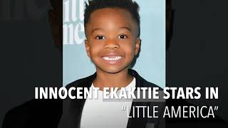 """Innocent Ekakitie at the """"Little America"""" Hollywood Launch"""