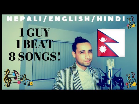 1 Guy 1 Beat 8 Songs  Best Mashup  Nepali Guy  EnglishNepaliHindi