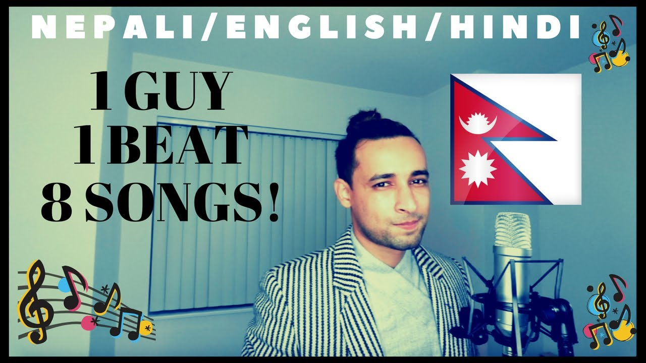 8 Songs 1 Beat Mashup by Nepali Guy #1
