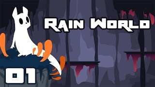 Let's Play Rain World - PC Gameplay Part 1 - I Don't Wanna Get Eaten!
