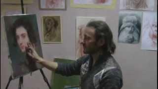 Курсы рисования для взрослых в Москве, обучение живописи,художник Игорь Сахаров
