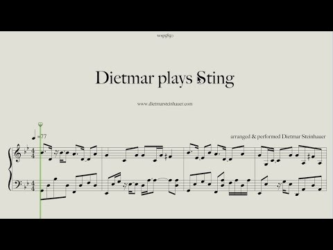 Dietmar plays Sting  - Shape of my Heart, Fragile and Fields of Gold