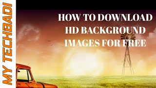 How to download hd background images from android phone I My Techbadi I