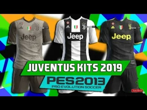 more photos 9d1b7 80e8b PES 2013 ● New Full GDB Kits Juventus FC 2018/2019 HD
