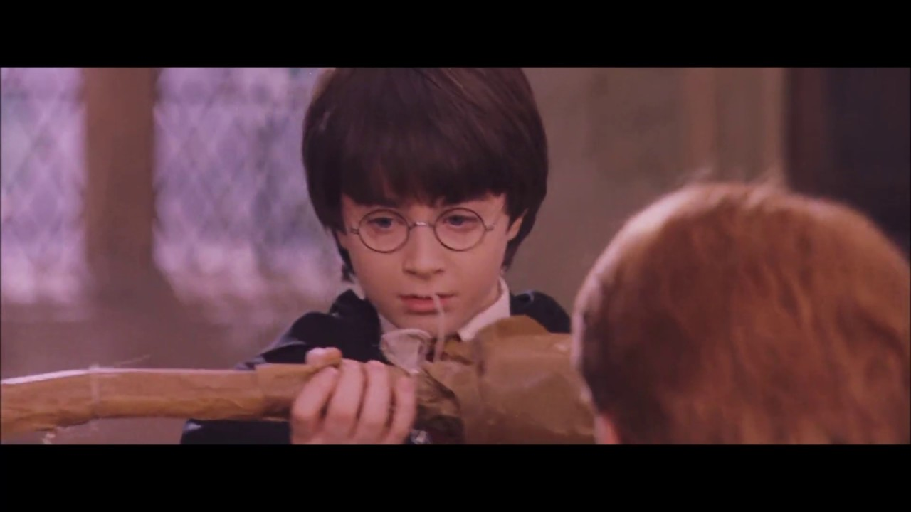 Harry Potter gets his first broomstick - Nimbus 2000 Harry Potter: 12 Times Professor McGonagall Proved She's The Best Character In The Series