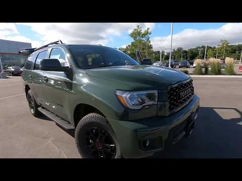 2020 Toyota Sequoia TRD Pro Army Green in Madison, WI