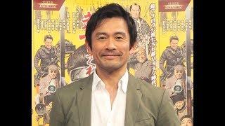 俳優の内野聖陽が18日、東京・渋谷のNHKで自身が主演する単発ドラマ『ス...