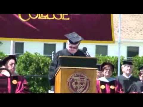 Commencement Address 2012 Graduating Class of St. Thomas Aquinas COllege