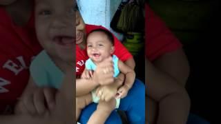 lucu Bayi bercanda lucu banget bikin ketawa