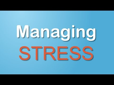 Managing Stress (Conditions A-Z)