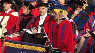 2012: Martha Nussbaum - Doctor of Letters, honoris causa