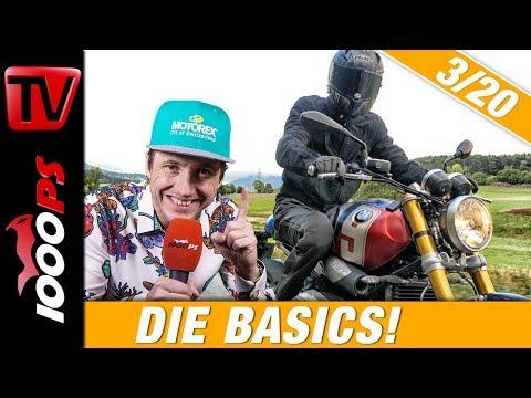 Kupplung, Bremse, Gasgriff, Lenker - Das Zusammenspiel der Motorrad Bedienelemente! 3/20