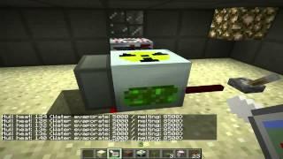 Atomkraftwerk in Minecraft Tekkit Bauanleitung und Explosion nach Kernschmelze