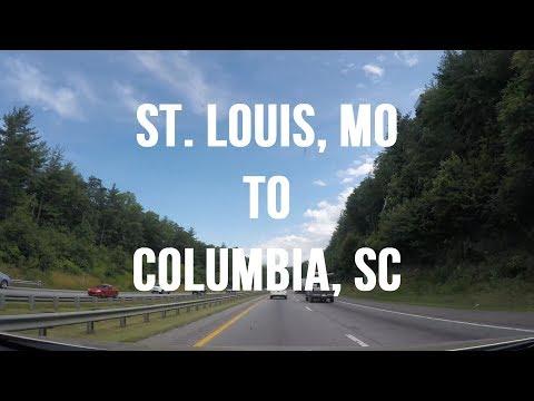 Let's Drive - St. Louis, Missouri to Columbia, South Carolina